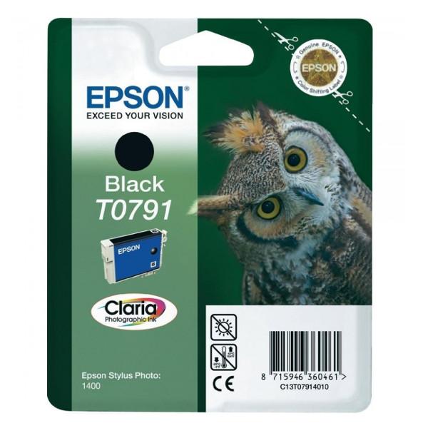 Картридж Epson T0791 C13T07914010 Black для P50/PX660/PX820/PX830