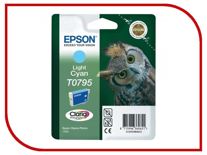 Картридж Epson T0795 C13T07954010 Light Cyan для P50/PX660/PX820/PX830<br>