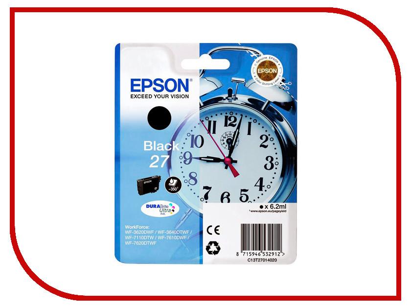 Картридж Epson T2701 C13T27014020 Black для WF-7110/7610/7620<br>