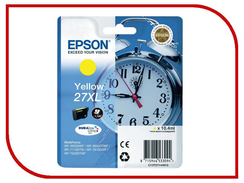 Картридж Epson T2714 C13T27144020 Yellow для WF-7110/7610/7620<br>