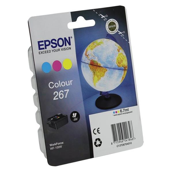 Картридж Epson T267 C13T26704010 Colour для WF-100