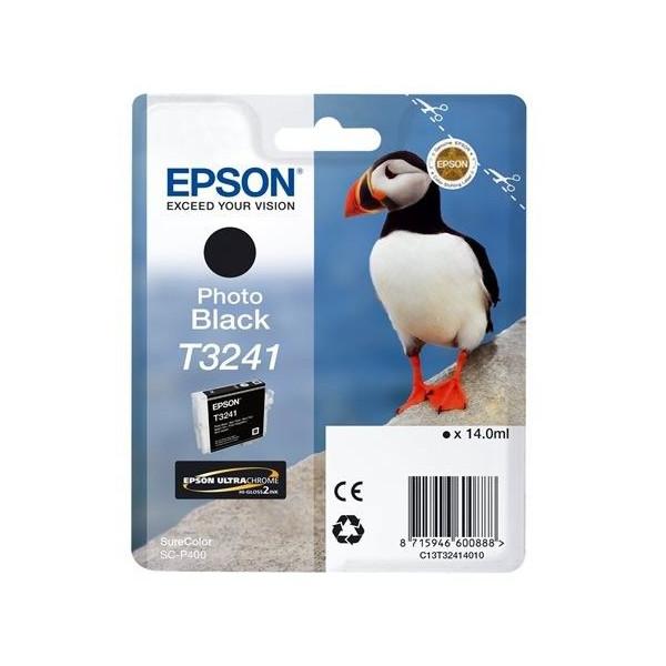 Картридж Epson T3241 C13T32414010 Photo Black для SC-P400