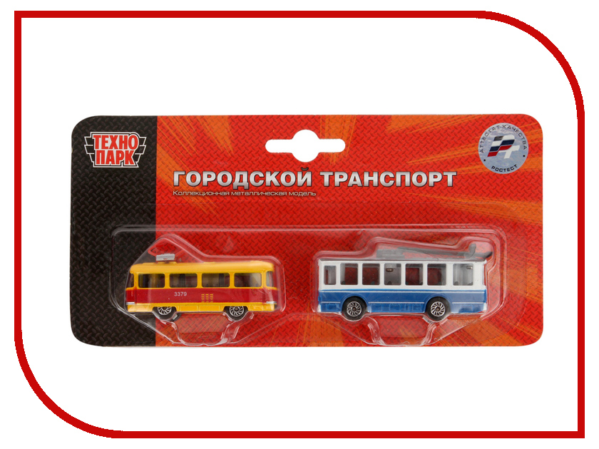 Игрушка Технопарк Трамвай и Троллейбус 2x144 SB-15-06-BLC omron d2f f snap action switch black