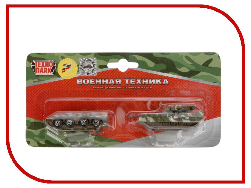 Игрушка Технопарк Военная техника 2x144 SB-15-09-BLC