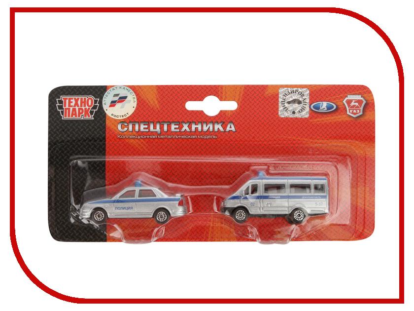 Игрушка Технопарк УАЗ Полиция 2x144 SB-15-08-BLC машина технопарк уаз sb 15 58