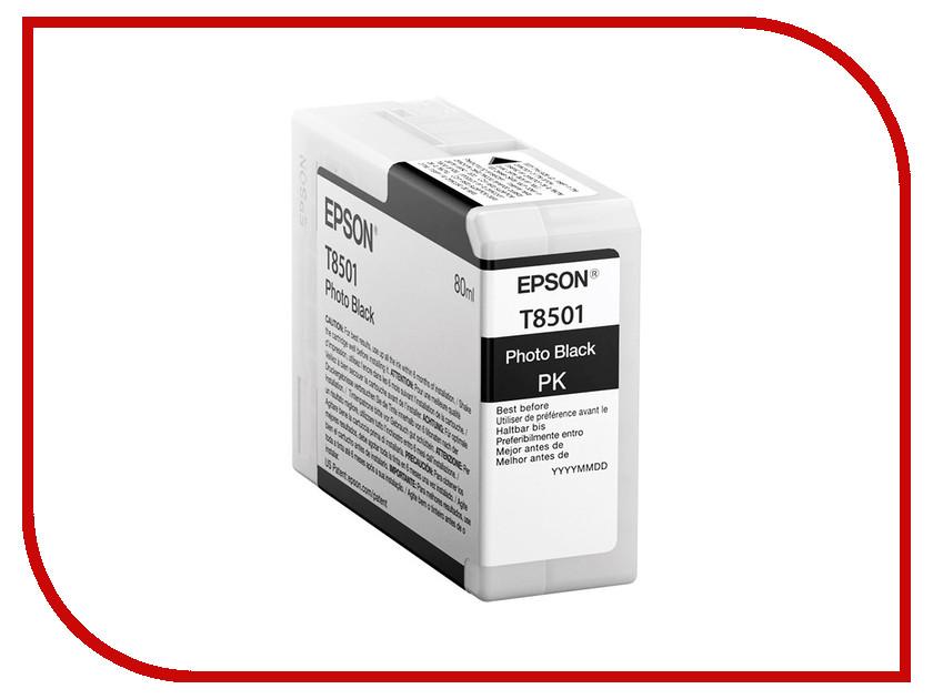 Картридж Epson T8501 C13T850100 Photo Black для SC-P800<br>