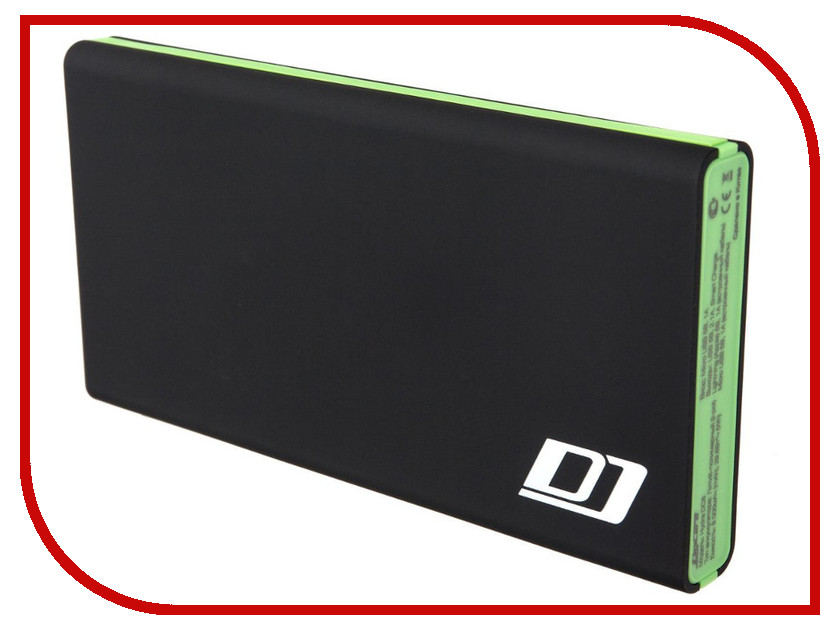����������� DigiCare Hydra DC8 8000 mAh Black-Green PB-HDC8g