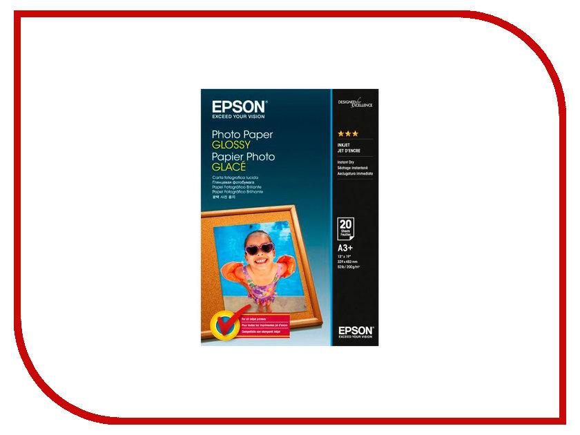 Фотобумага Epson C13S042535 Photo Paper Glossy A3+ 200g/m2 20 листов