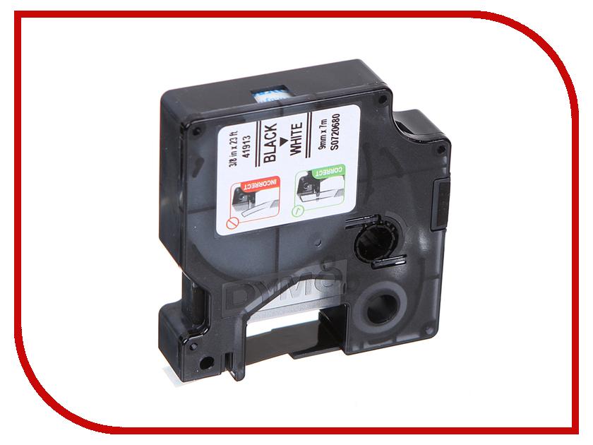 Картридж DYMO D1 9mm-7m для принтеров этикеток S0720680 принтер dymo label manager 280 290706