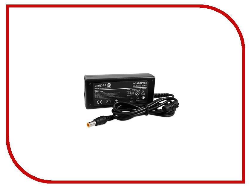 Блок питания Amperin AI-SV65 для Sony Vaio 19.5V 3.3A 6.5x4.4mm 65W<br>