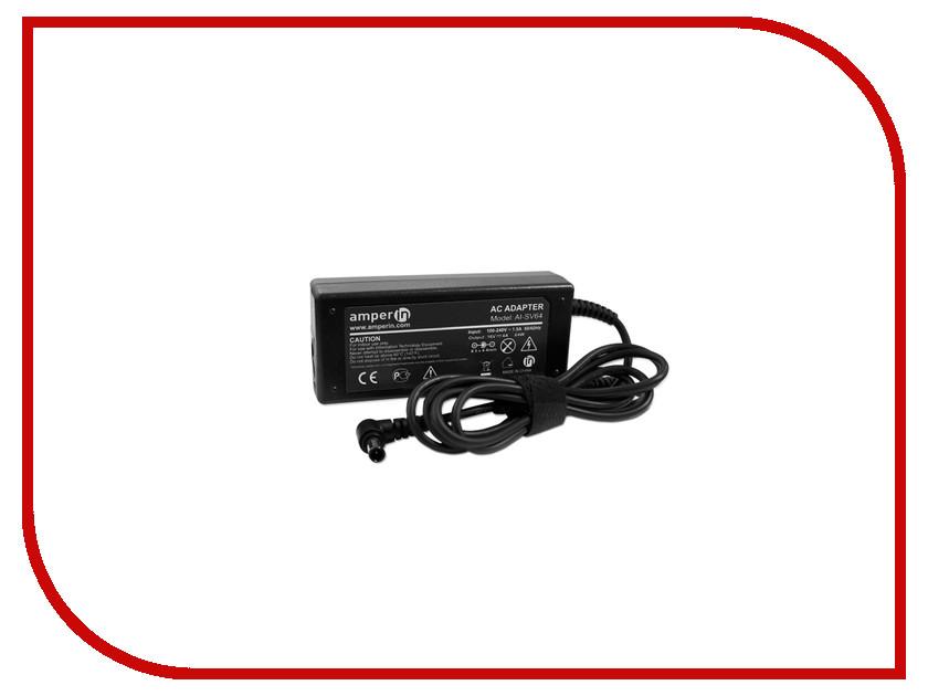 ���� ������� Amperin AI-SV64 ��� Sony Vaio 16V 4A 6.5x4.4mm 64W