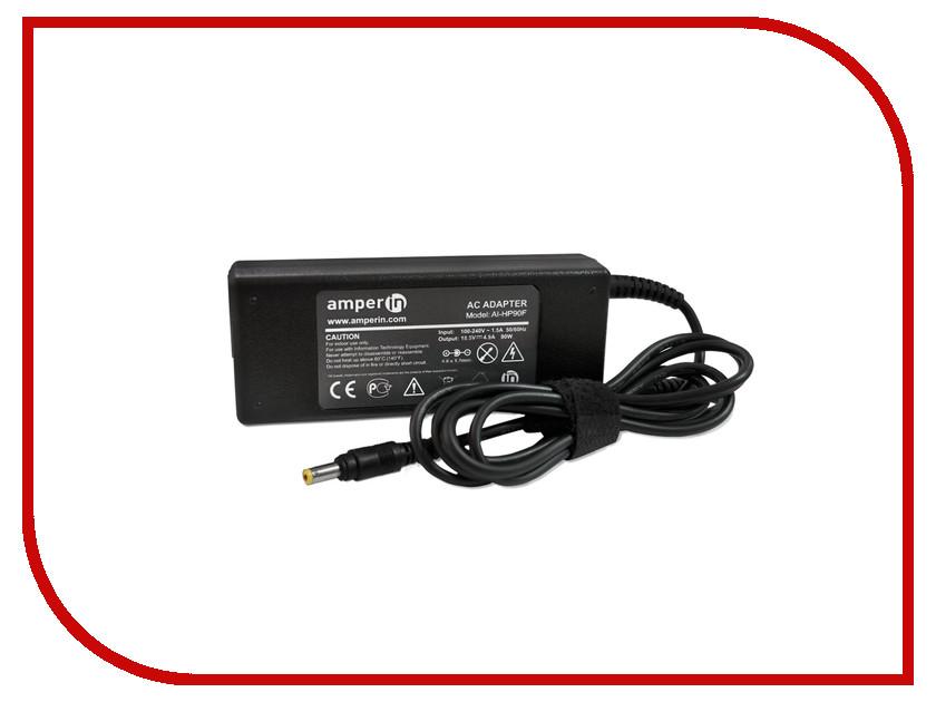 Блок питания Amperin AI-HP90F для HP 18.5V 4.9A 4.8x1.7mm 90W