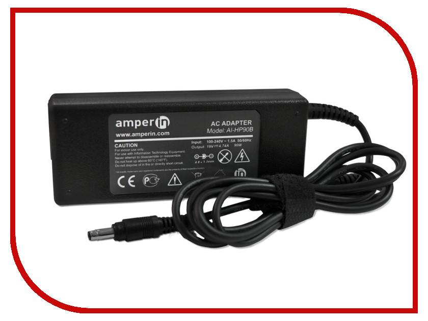 Блок питания Amperin AI-HP90B для HP 19V 4.74A 4.8x1.7mm 90W<br>