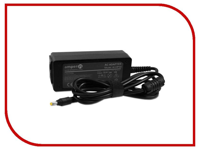 Блок питания Amperin AI-HP30 для HP 19V 1.58A 4.0x1.7mm 30W