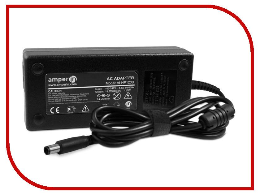Блок питания Amperin AI-HP120B для HP 18.5V 6.5A 7.4x5.0mm 120W<br>