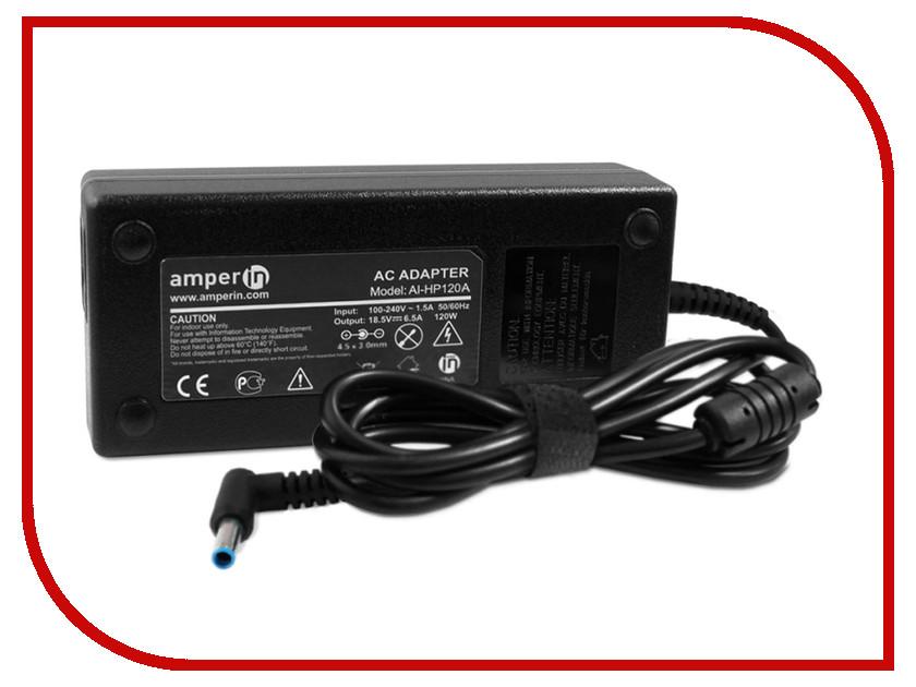 Блок питания Amperin AI-HP120A для HP 19.5V 6.15A 4.5x3.0mm 120W