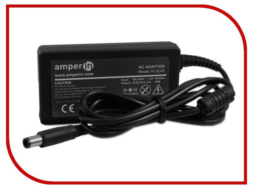 Блок питания Amperin AI-DL45 для Dell 19.5V 2.31A 7.4x5.0 45W