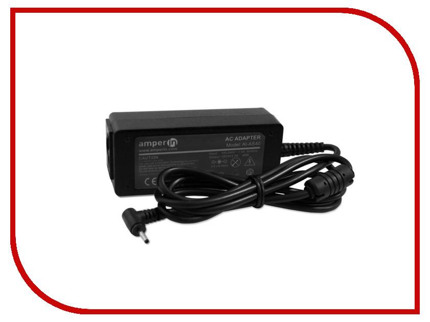 Блок питания Amperin AI-AS40 для ASUS 19V 2.1A 2.5x0.7mm 40W<br>