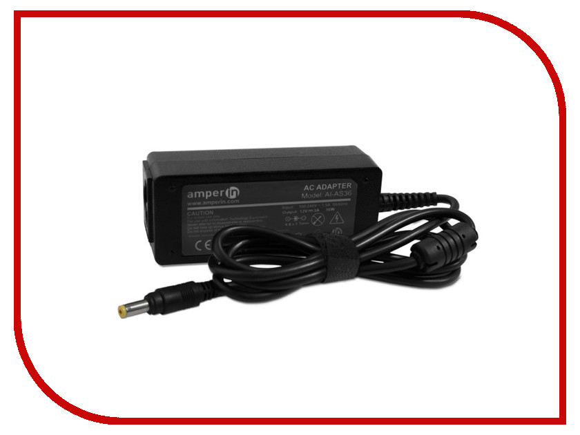 Блок питания Amperin AI-AS36 для ASUS 12V 3A 4.8x1.7mm 36W majorette creatix игрушечный трек starter pack