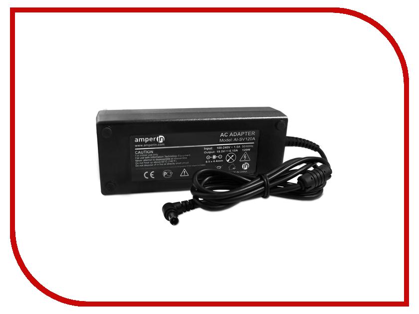 Блок питания Amperin AI-SV120A для Sony Vaio 19.5V 6.15 6.5x4.4mm 120W ai 03 176