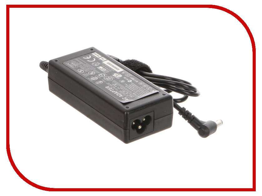 Блок питания Tempo AS65 для ASUS 19V 3.42A 5.5x2.5mm 65W блок питания tempo ac90 для acer 19v 4 74a 5 5x1 7mm 90w