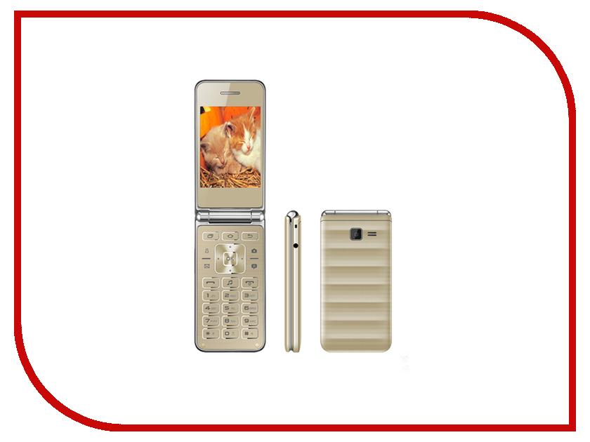 Сотовый телефон Vertex S104 Gold