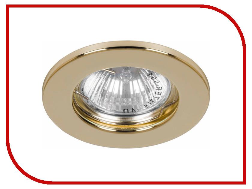 Светильник Feron DL10 Gold 15110 встраиваемый светильник feron dl246 17898