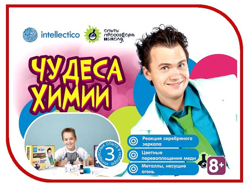 Игра Intellectico Опыты профессора Николя Чудеса химии 26570