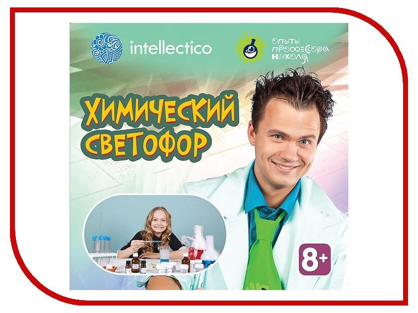 Набор для экспериментов Intellectico Опыты профессора Николя Химический светофор 26574