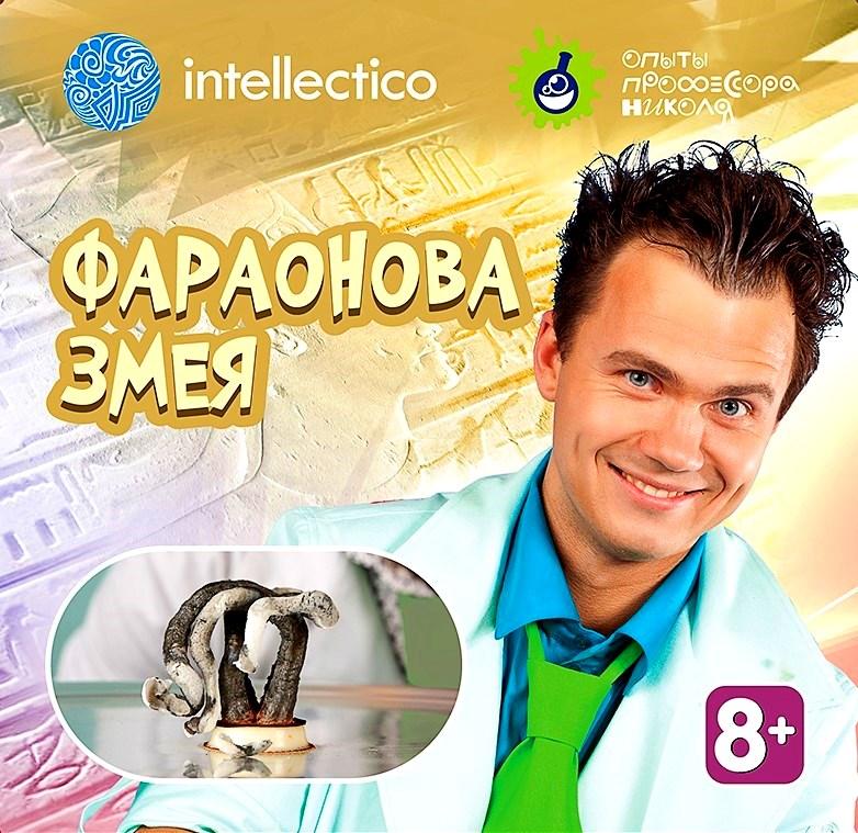 Игра Intellectico Опыты профессора Николя Фараонова змея 26563