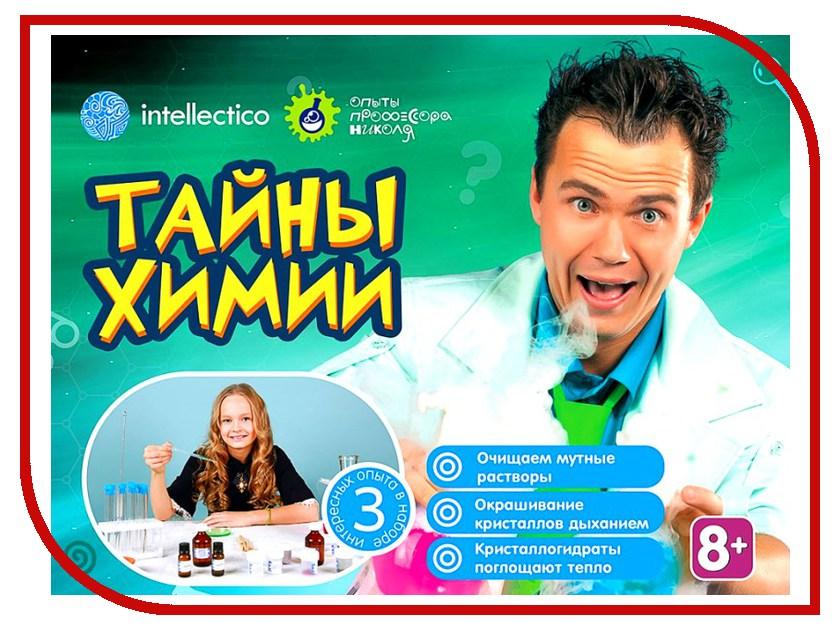 Набор для экспериментов Intellectico Опыты профессора Николя Тайны химии 26571