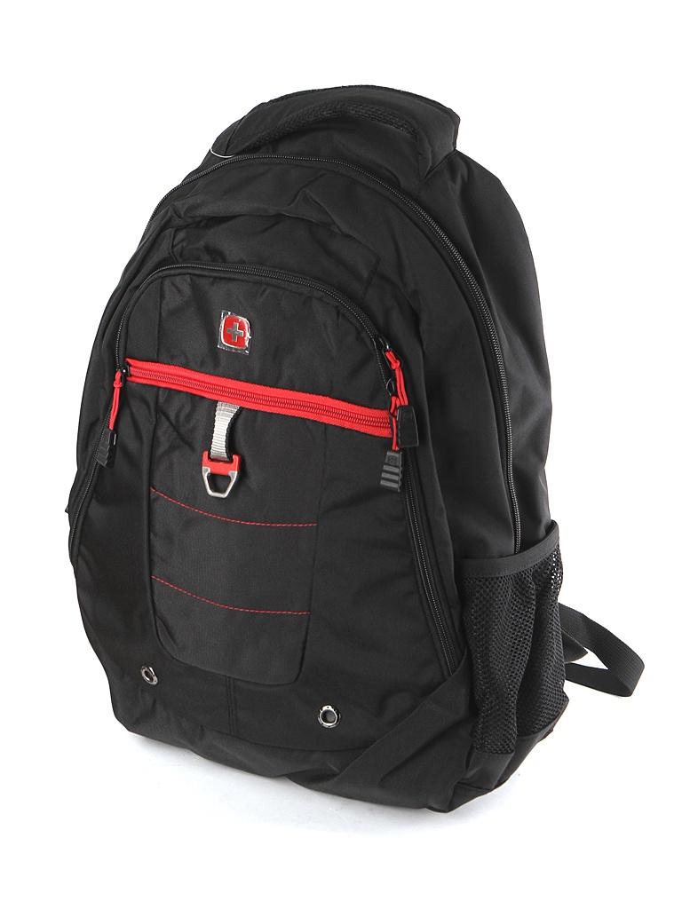 Рюкзак Wenger 900D Black-Red 5918201419