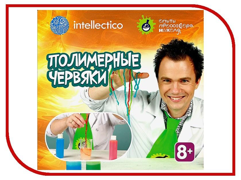 Игра Intellectico Опыты профессора Николя Полимерные червяки 26564 опыты профессора николя карточки