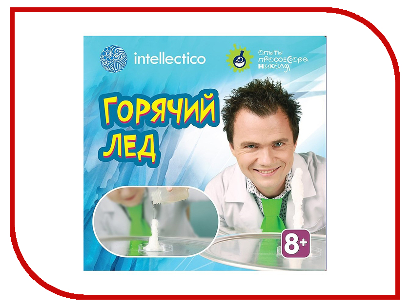 Набор для экспериментов Intellectico Опыты профессора Николя Горячий лёд 26565