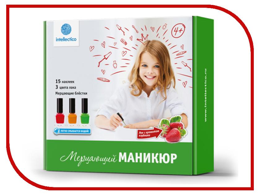 Набор для творчества Intellectico Мерцающий маникюр 26548 набор для создания духов intellectico апельсин mini