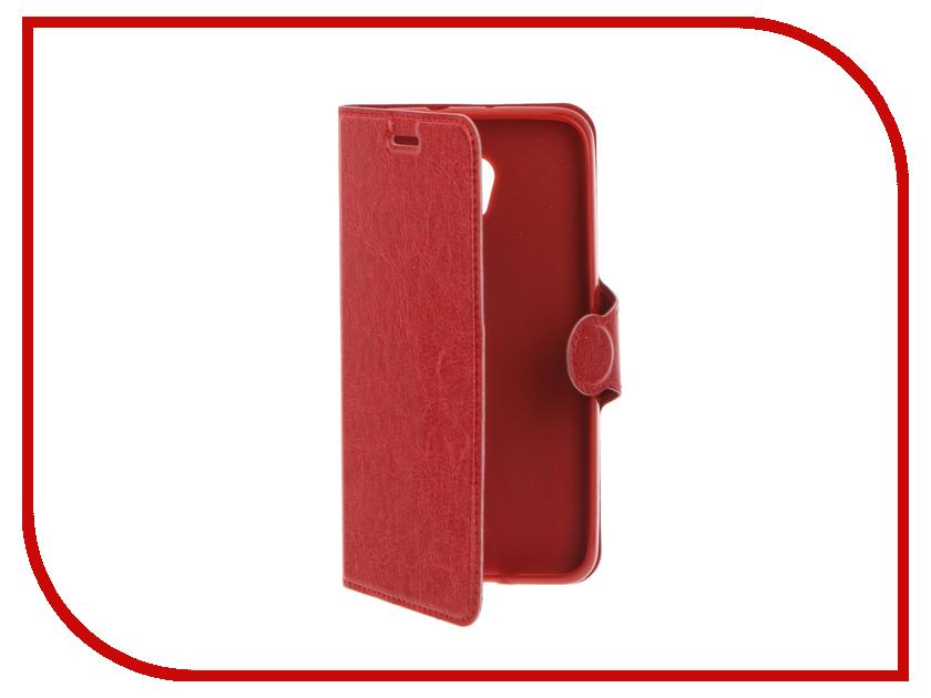 Аксессуар Чехол ZTE Blade V7 Red Line Book Type Red<br>