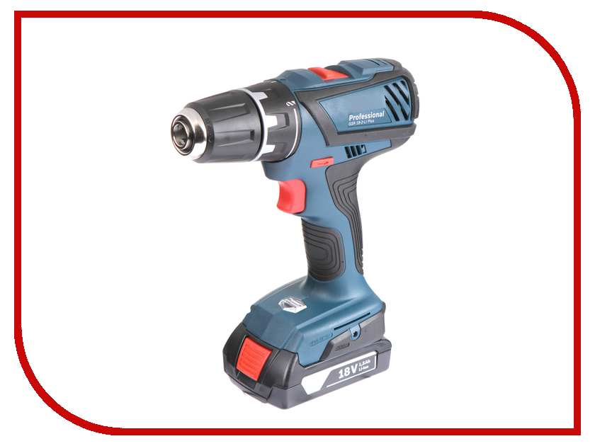 Электроинструмент Bosch GSR 18-2-Li Plus 1.5Ah x3 Bag 06019E6101 лампа bosch plus 90 h7 2шт 1987301075