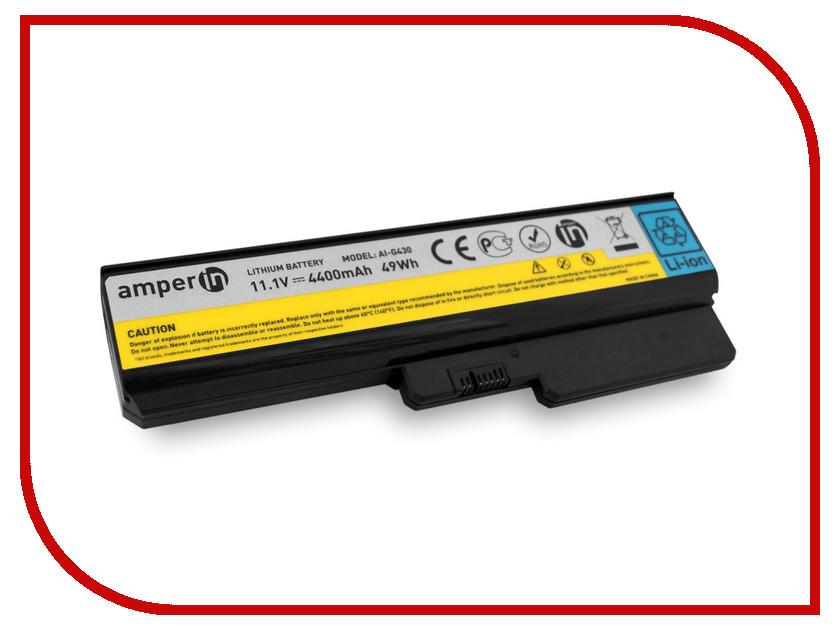 Аккумулятор Amperin AI-G430 для Lenovo IdeaPad G430 аккумулятор для ноутбука for lenovo ibm 3000 g455 g550 n500 ideapad g430 v460 z360 b460 v460d l08s6y02 l08s6d02 l08s6c02