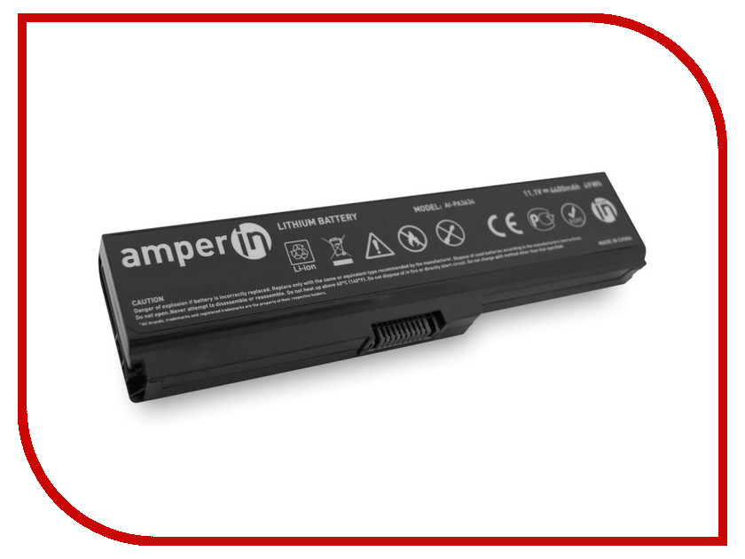 Аккумулятор Amperin AI-PA3634 для Toshiba Satellite L750