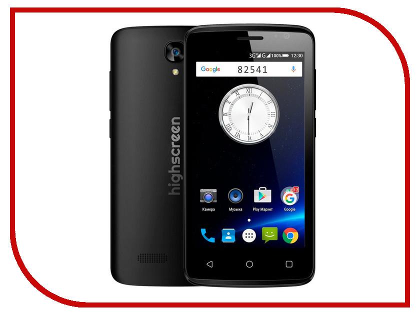 Сотовый телефон Highscreen Easy F Pro Black