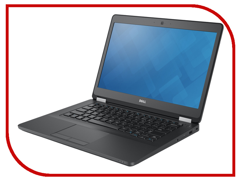 Ноутбук Dell Latitude E5470 Black 5470-9631 (Intel Core i5-6200U 2.3 GHz/8192Mb/256Gb SSD/No ODD/Intel HD Graphics/Wi-Fi/Bluetooth/Cam/14.0/1920x1080/Windows 7 64-bit)<br>