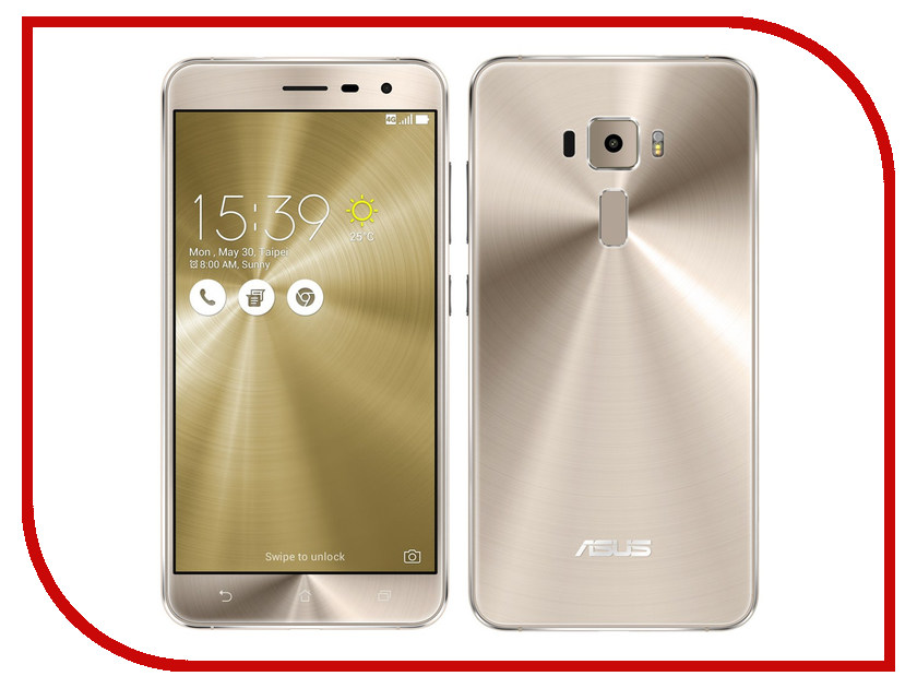 Сотовый телефон ASUS ZenFone 3 ZE552KL 64Gb Gold<br>