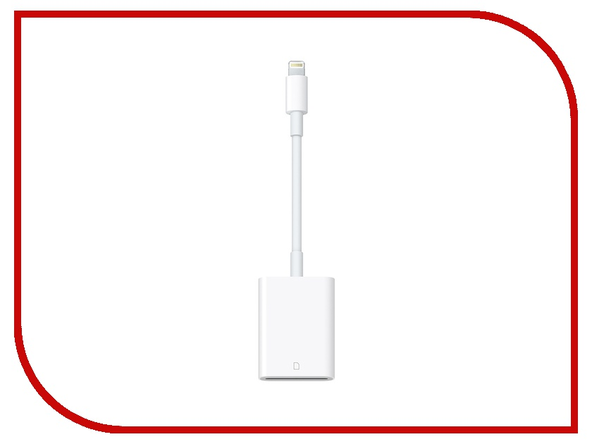 Гаджет APPLE Lightning to SD Card Camera Reader MJYT2ZM/A<br>