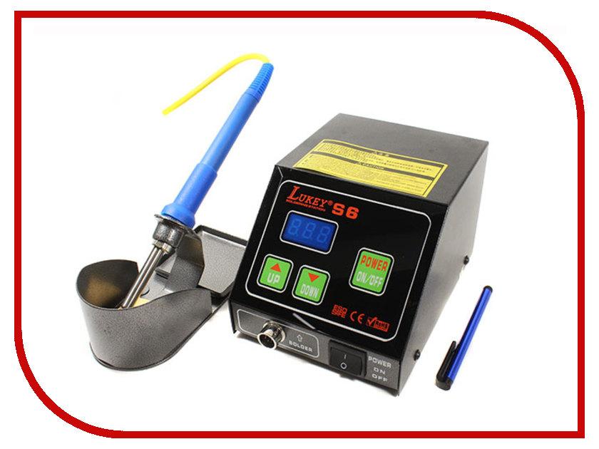 Паяльная станция Lukey S6  паяльная станция фен антистатический паяльник lukey 902 12 0045 4