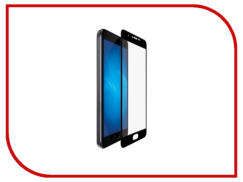Аксессуар Закаленное стекло для Meizu U10 DF Full Screen mzColor-06 Black top quality lcd display digitizer touch screen assembly for meizu u10 phone with frame free shipping with tools as gift