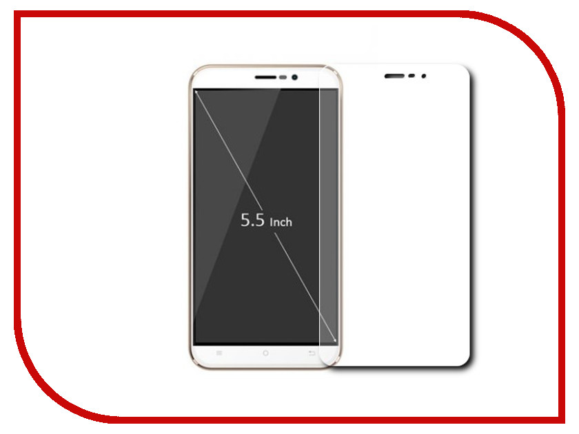 Аксессуар Закаленное стекло Lenovo A6020 Vibe K5 / Vibe K5 Plus DF LSteel-42 смартфон lenovo vibe c2 power 16gb k10a40 black