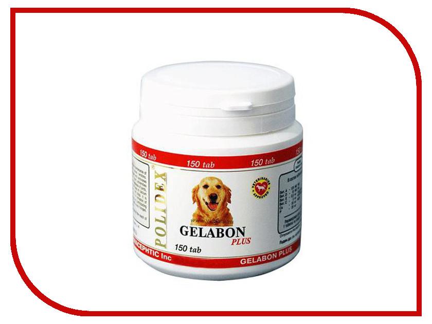 Витамины Polidex Gelabon Plus Профилактика и лечение заболеваний суставов и костей 150 таблеток для собак 5929