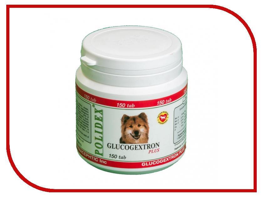 Витамины Polidex Glyukogekstron Plus Восстановление хрящевой ткани 150 таблеток для собак 6001