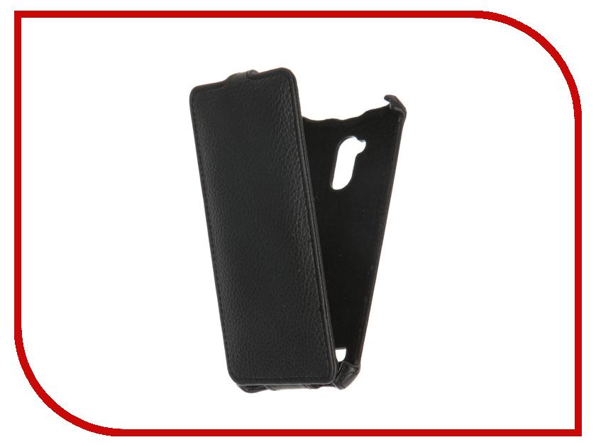Аксессуар Чехол ZTE Blade V7 Lite Gecko Black GG-F-ZTEBLV7-BL