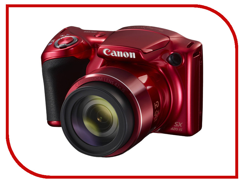 Фотоаппарат Canon PowerShot SX420 IS Red<br>